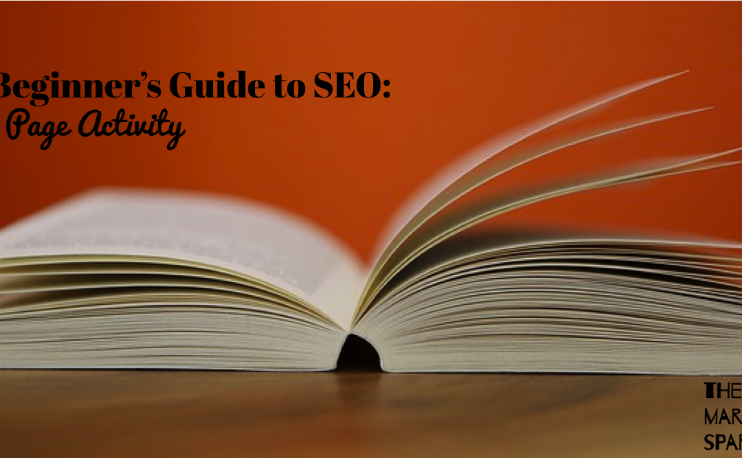 A Beginner's Guide to SEO: On Page Activity