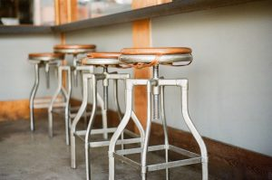 Empty Bar Stools